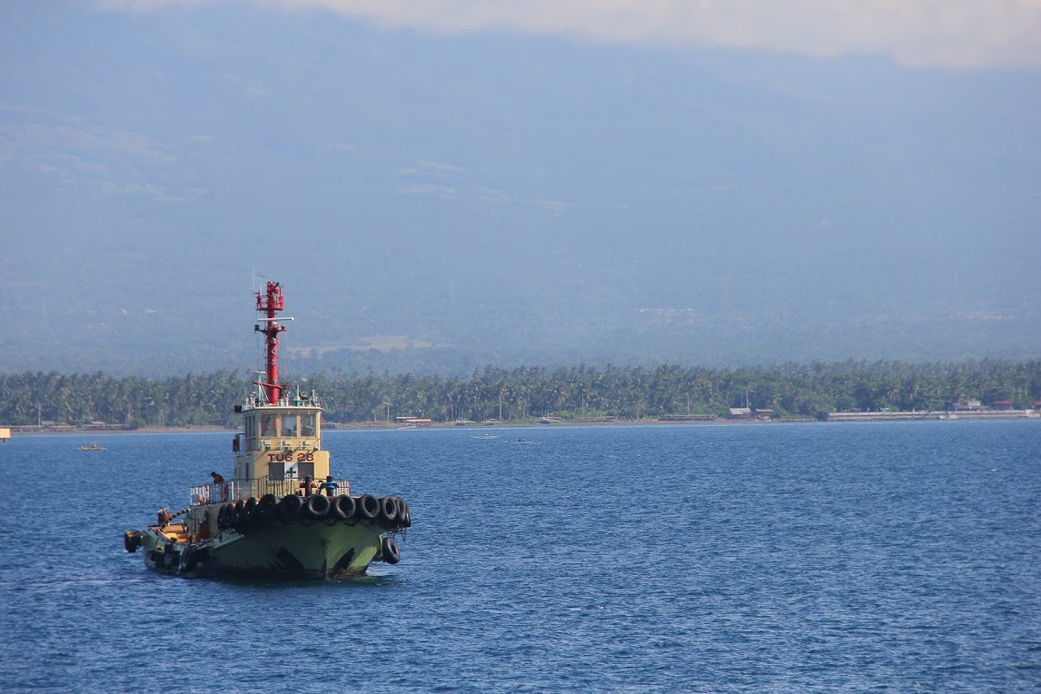 Anchored in Quezon Province